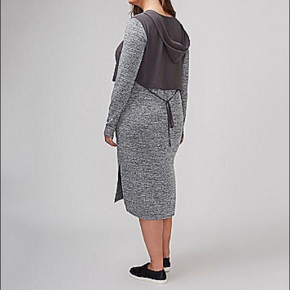 Lane Bryant Dresses - Hooded Athleisure Dress